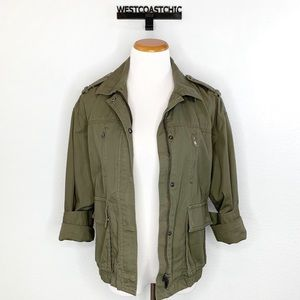 Banana Republic Olive Green Military Jacket